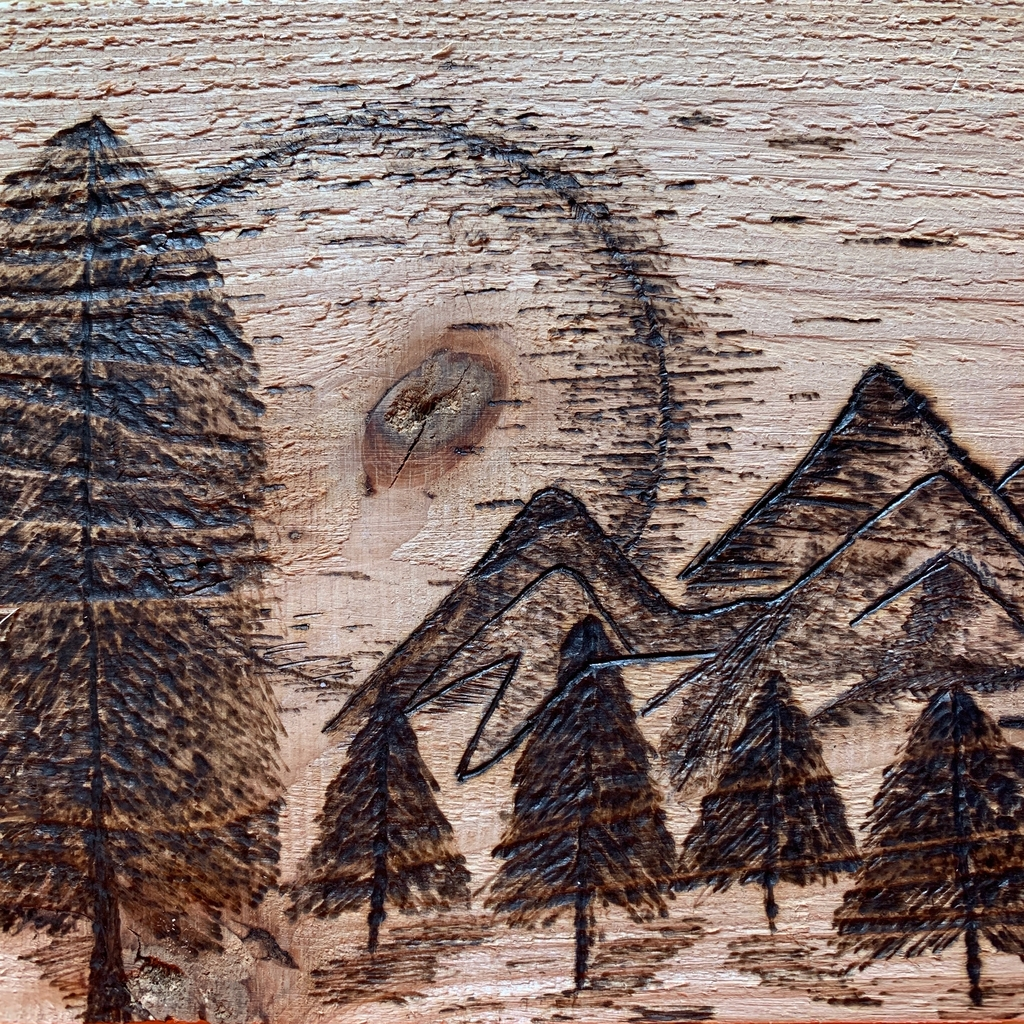 Wood burning by Carlee